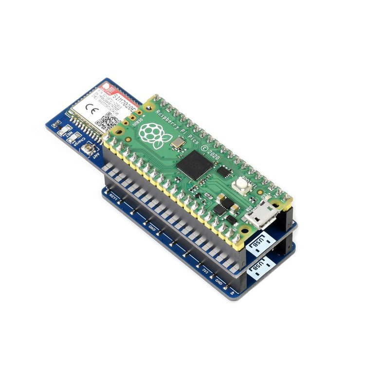 SIM7020E NB-IoT Module For Raspberry Pi Pico for Europe
