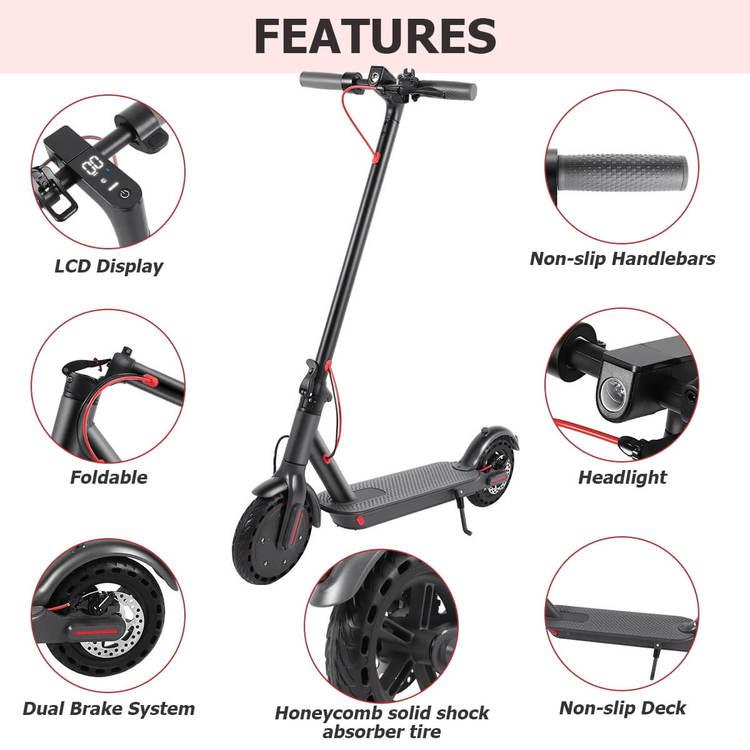 iEZway EZ6 Pro Electric Scooter vikbar med app kontroll