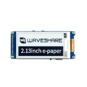 2.13inch E-Paper Cloud Module, 250×122, WiFi Connectivity
