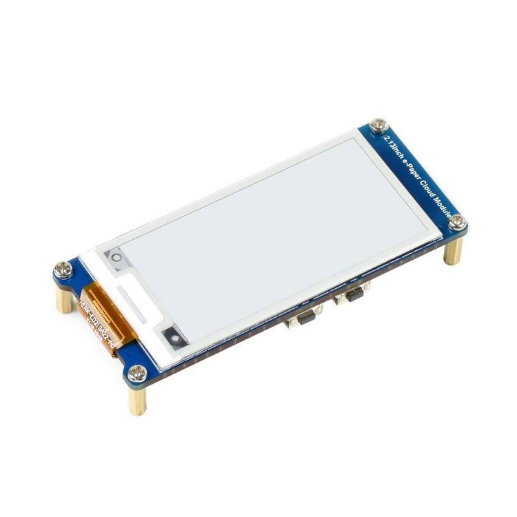 2.13inch E-Paper Cloud Module, 250×122, WiFi Connectivity