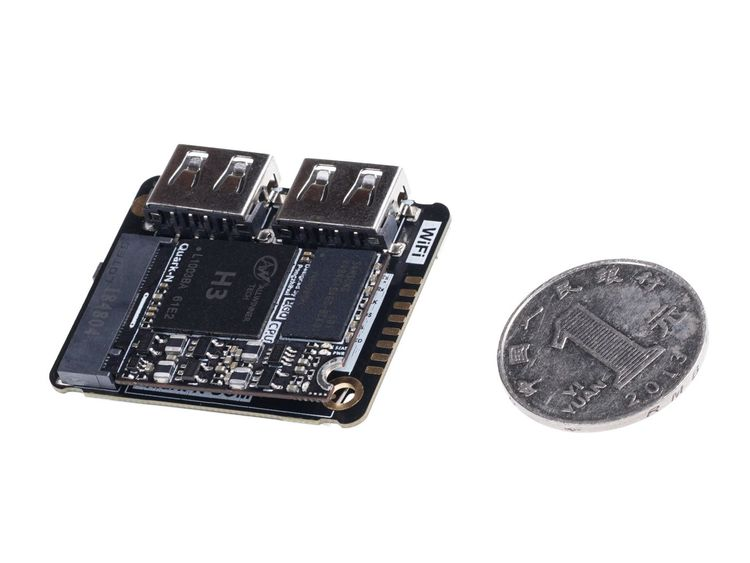 Quantum Tiny Linux Development Kit – With SoM and Expansion Board