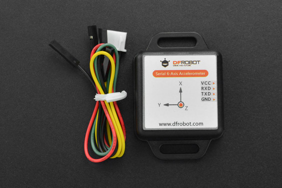 Serial 6-Axis Accelerometer for Arduino