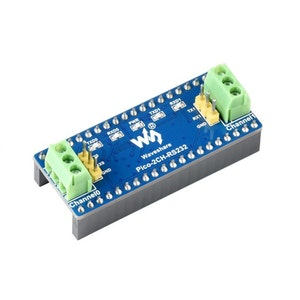 2-Channel RS232 Module for Raspberry Pi Pico, SP3232EEN Transceiver, UART To RS232