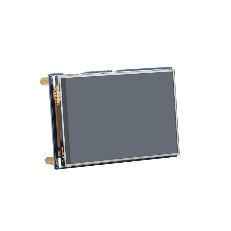 3.5inch Touch Display Module for Raspberry Pi Pico, 65K Colors, 480×320, SPI