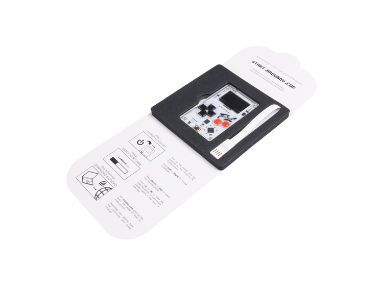 Arduboy FX - Open Source Card-Sized Gaming Board