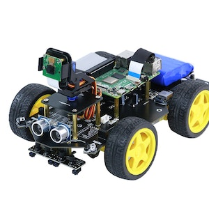 Yahboom WIFI video AI visual robot car with FPV camera for Raspberry Pi 4B