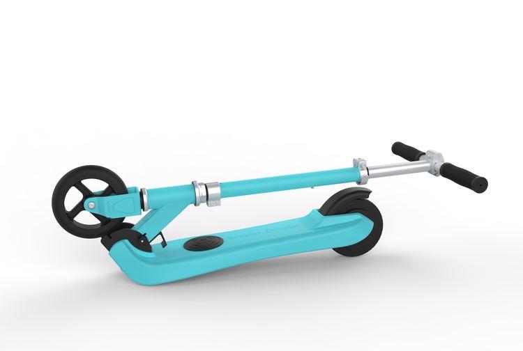 EZ-R5 elscooter för barn 100W vattentät vikbar
