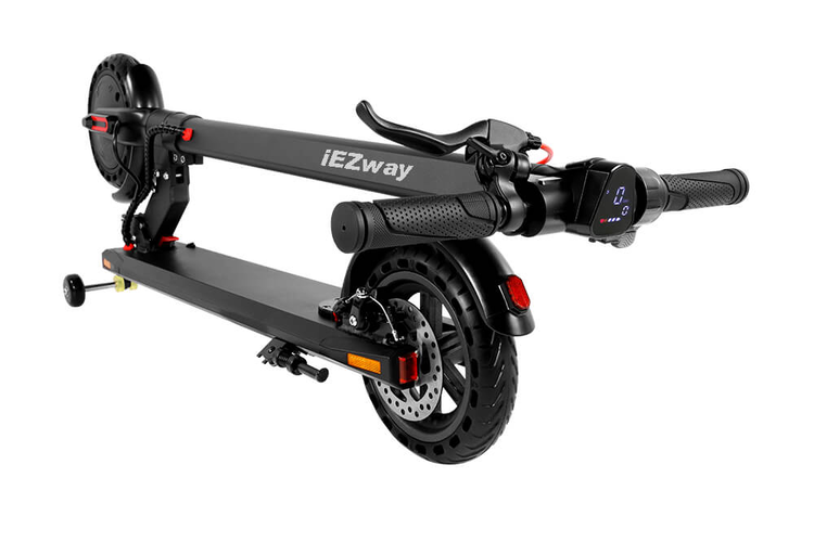 iEZway EZ3 300W Electric Scooter with two Auxiliary wheel