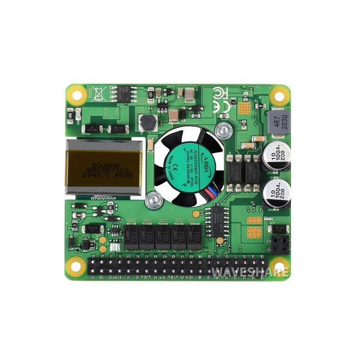 Raspberry Pi PoE+ HAT for Raspberry Pi 3B+/4B, 802.3af/at-compliant