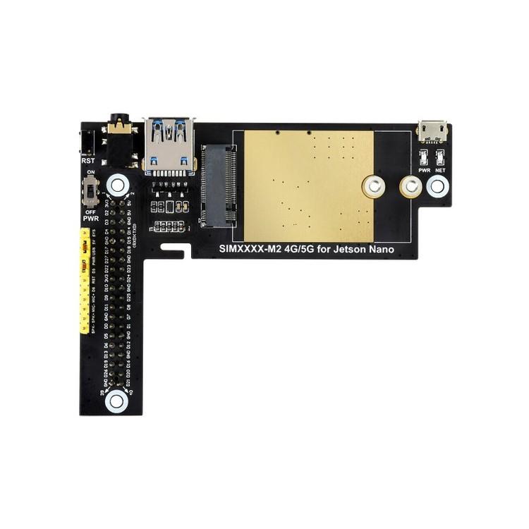 SIM8200EA-M2 5G Module Designed for Jetson Nano, 5G/4G/3G, Snapdragon X55, Multi Mode Multi Band