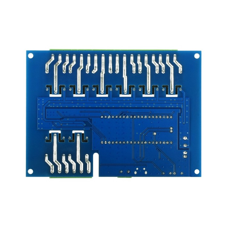 Industrial 8-Channel Relay Module for Raspberry Pi Pico, Multi Protection