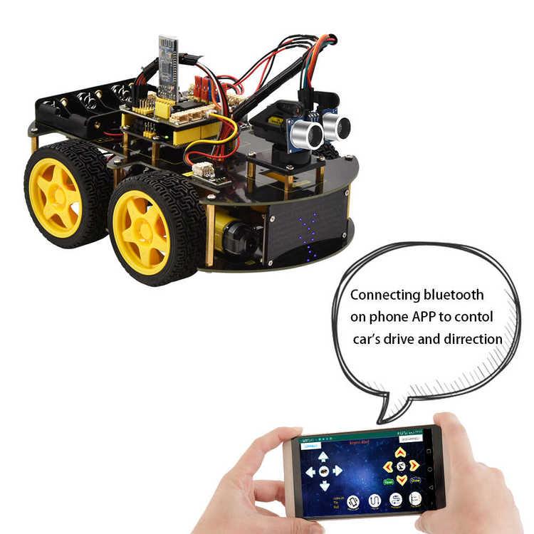 Keyestudio 4WD Multi BT Robot Car Kit V2.0