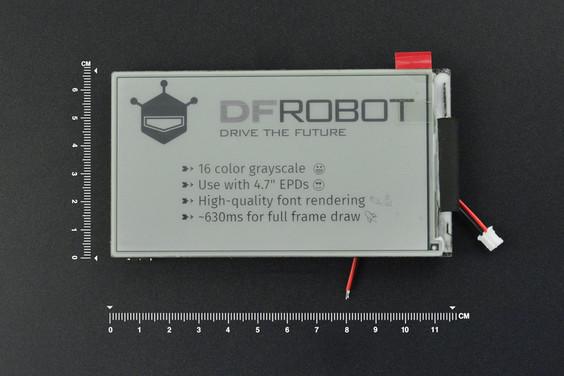 """4.7"""" E-ink Screen for ESP32"""