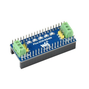 2-Channel RS485 Module for Raspberry Pi Pico, SP3485 Transceiver, UART To RS485