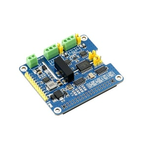 2-Channel Isolated CAN FD Expansion HAT for Raspberry Pi, Multi Protections