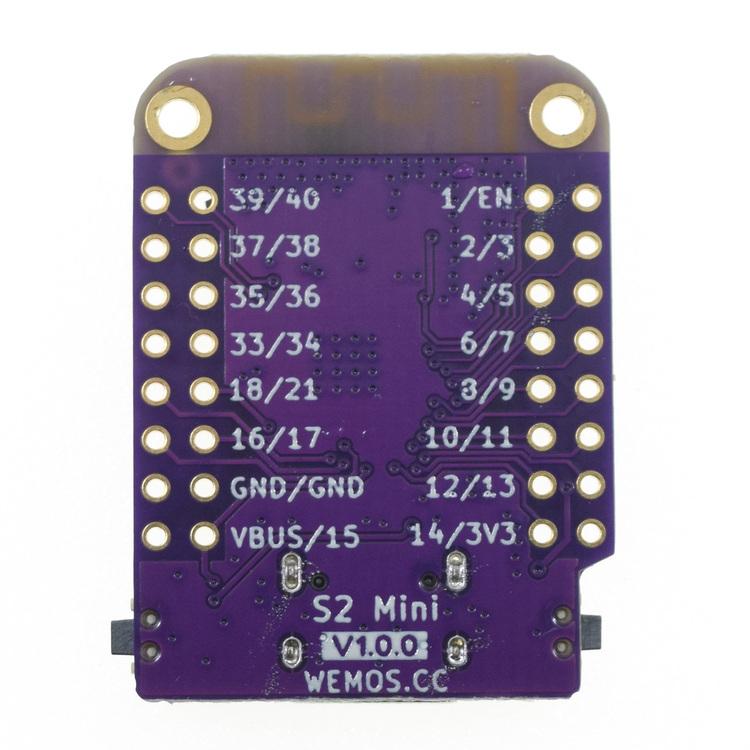 LOLIN WIFI IOT Board based ESP32-S2FN4R2 ESP32-S2