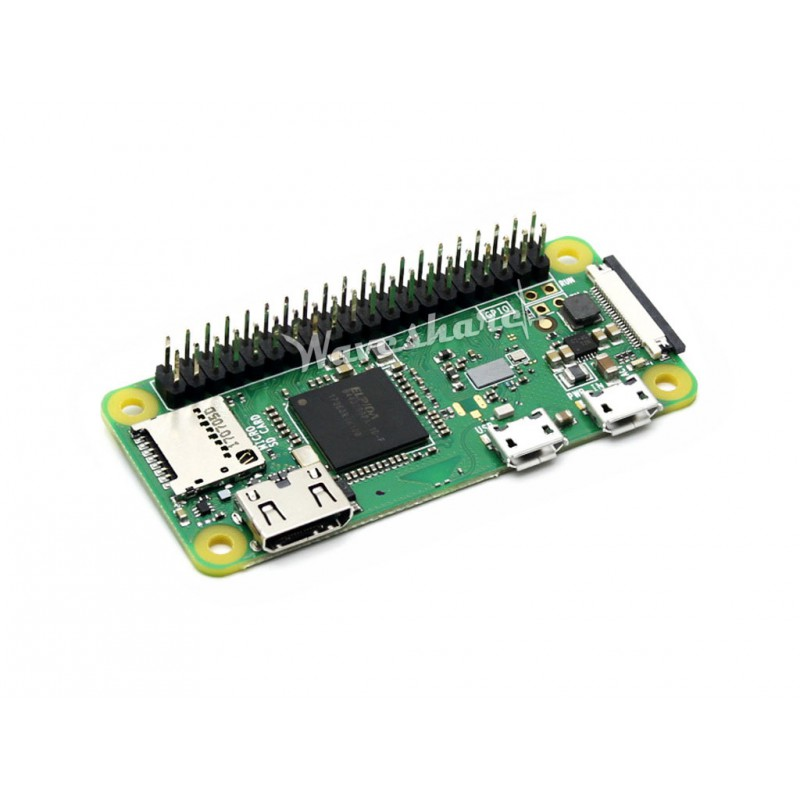 Raspberry Pi Zero WH Package F, with UPS Module and 1.3inch LCD Display