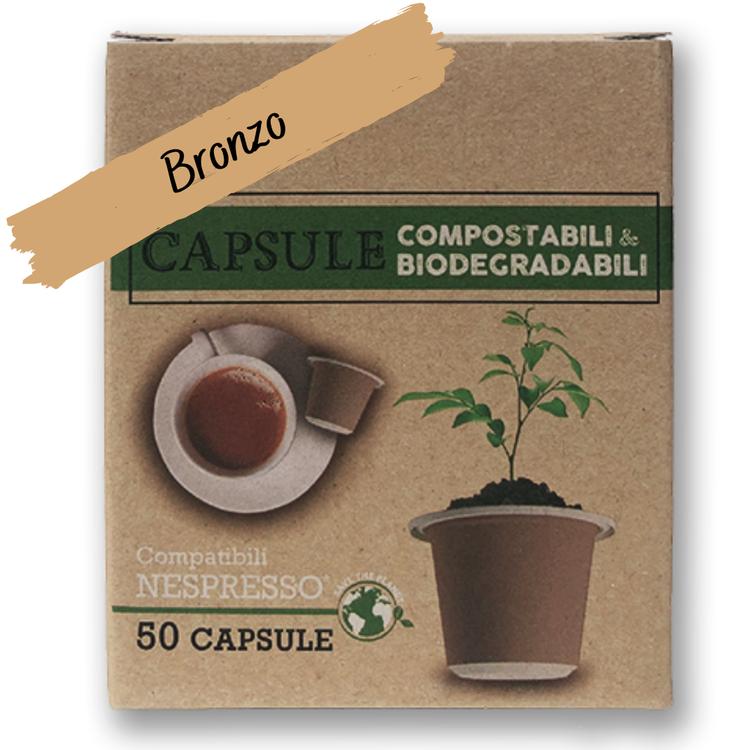 Kaffekapsel Bronzo