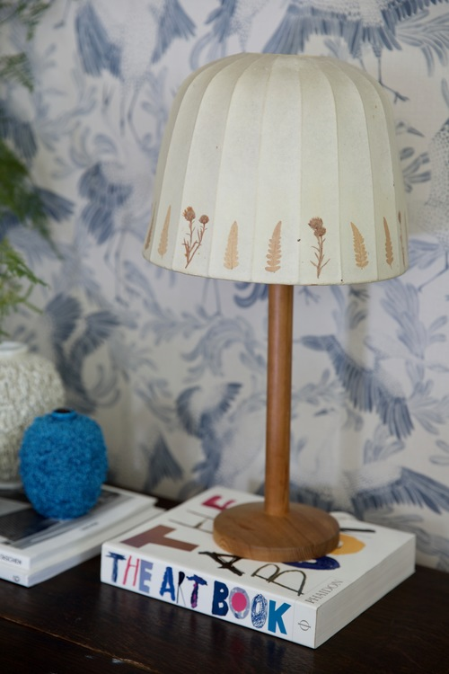 Hans-Agne Jakobsson Pine Table Lamp by Markaryd. 1960s.