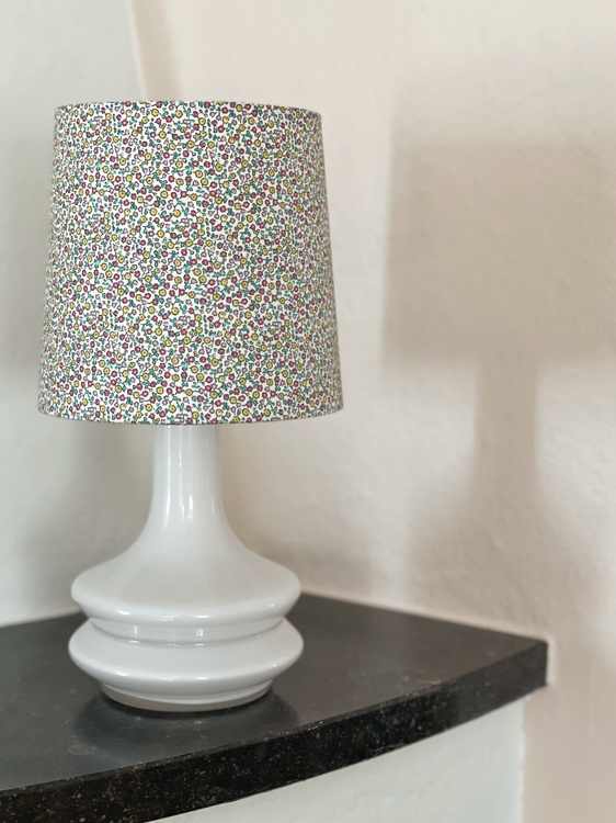 Fagerhult Glass Table Lamp in White by Gert Nyström.1960s.