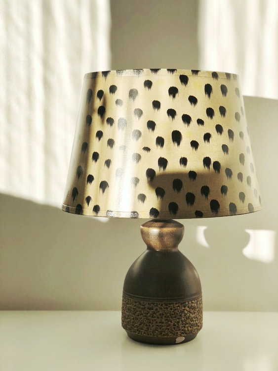Brandi Brown Ceramic Table Lamp