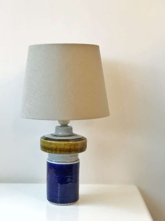 Scandinavian Modern Porcelain Lamp 'Titus' by Olle Alberius for Rorstrand