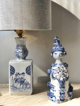 Björn Wiinblad Surreal Set Table Lamp and Figurine