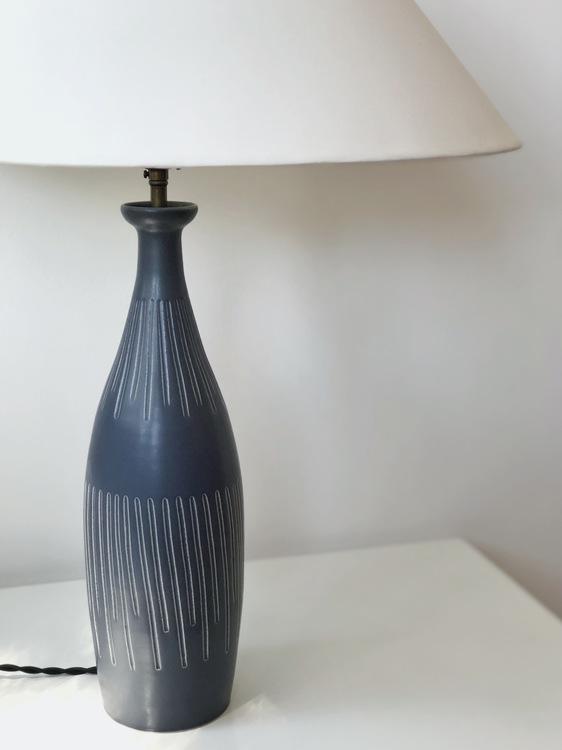 Søholm Danish Modern Large Ceramic Table Lamp. 1960s.
