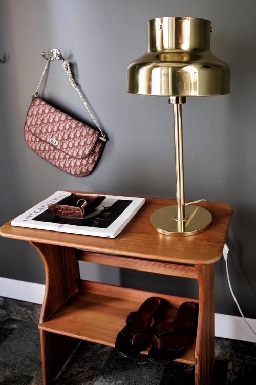 Bumling Table Lamp in Brass by Atelje Lyktan