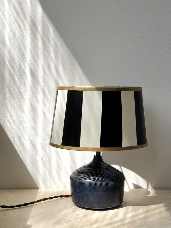 Vintage Small Ceramic Table Lamp by Klase Keramik