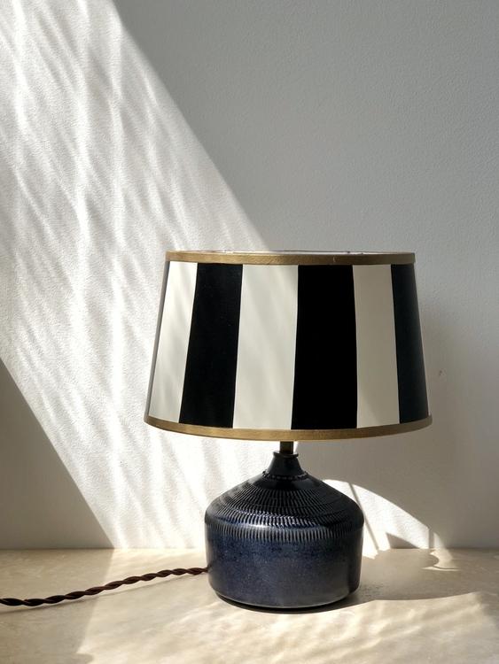 Vintage Small Ceramic Table Lamp by Klase Keramik