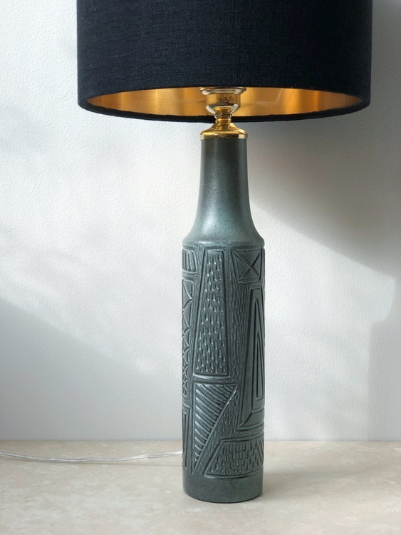 Upsala-Ekeby Table Lamp 4373 by Mari Simmulson. 1950s.