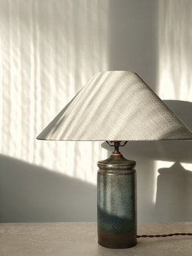Carl Harry Stålhane Stoneware Table Lamp for Rörstrand. 1960s.