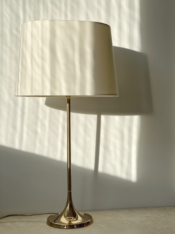 Bergboms Brass Table Lamp Model B-017. 1960s.