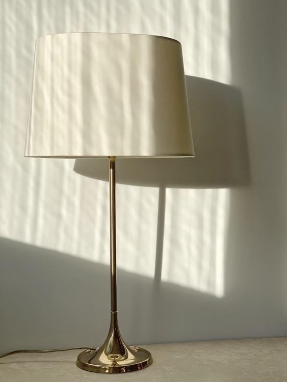 Bergboms Brass Table Lamp Model B-017. 1960s.