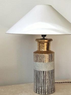 Bitossi for Bergboms Scandi Modern Ceramic Table Lamp. 60s.