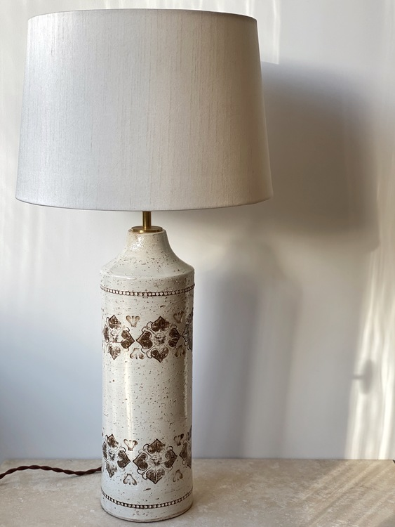 Bitossi for Bergboms Large Ceramic Table Lamps (3 available)