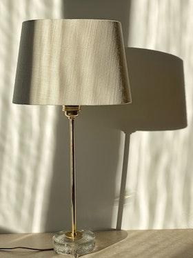 Falkenbergs Belysning Brass Table Lamp Model 6275. 1960s.