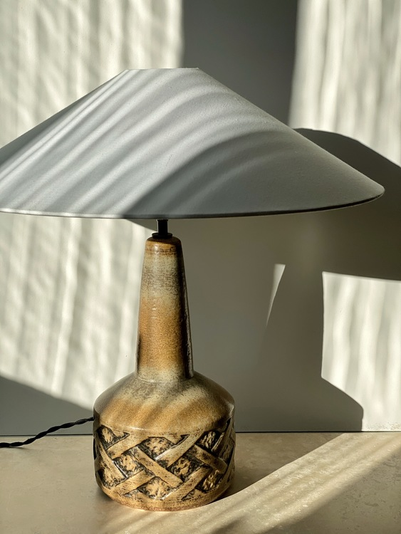 Søholm Danish Modern Large Ceramic Table Lamp. 1960s.
