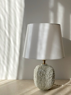 "Gunnar Nylund ""Chamotte"" Table Lamp for Rörstrand"