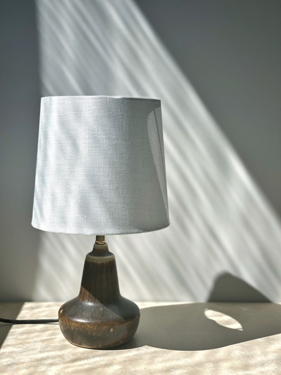 Gunnar Nylund Small Stoneware Table Lamp for Rörstrand