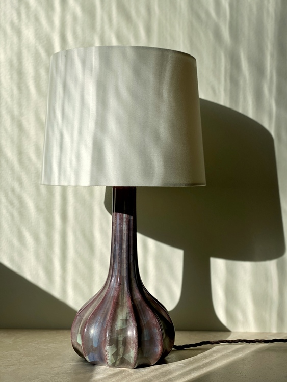 Michael Andersen Stoneware Table Lamp. 1960s.