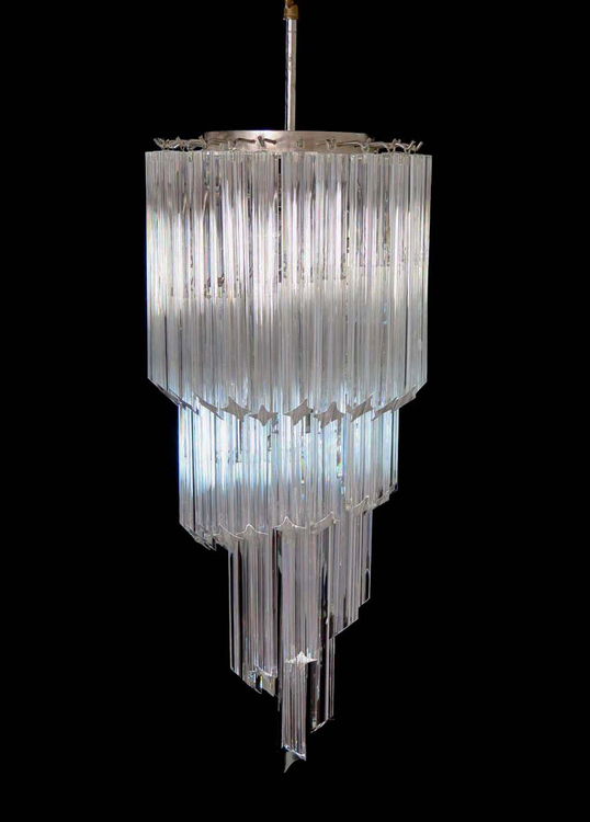 Murano Chandelier in the style of Venini