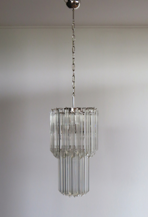Small Murano Chandelier in the style of Venini