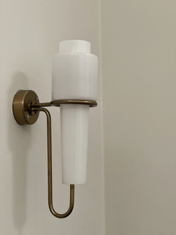 Hans-Agne Jakobsson Wall Lamp. Pair available. 1960's.