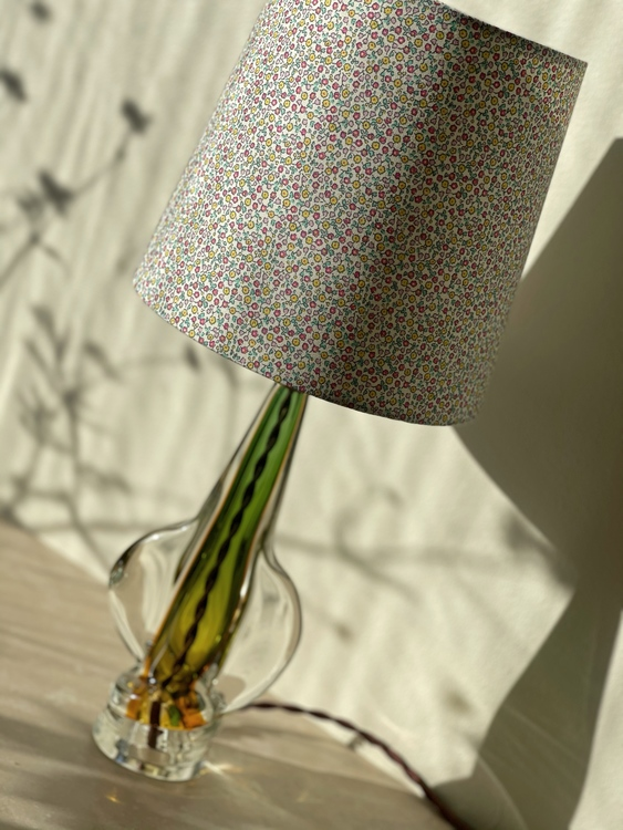 Italian Modern Murano Glass Table Lamp. 1970s.