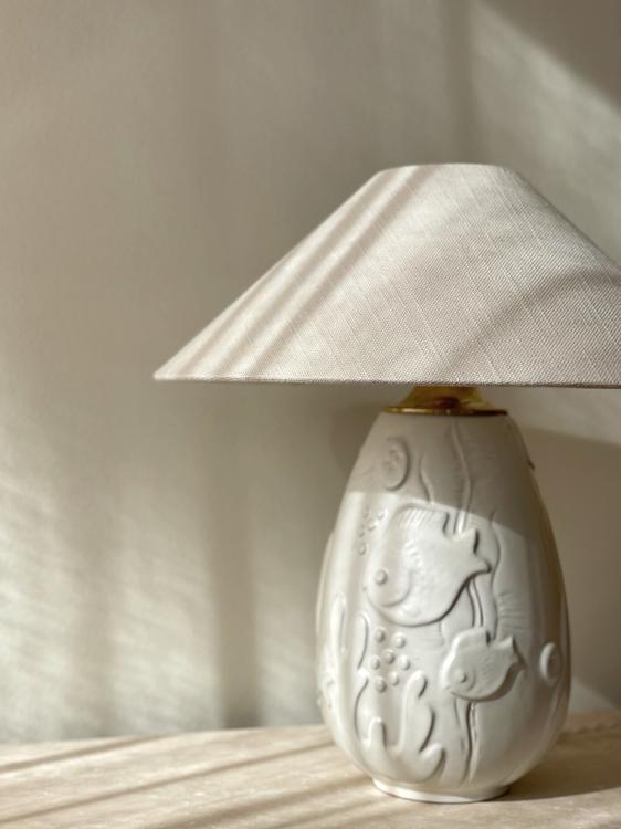 Anna-Lisa Thomson Ceramic Table Lamp for Upsala-Ekeby. 1940s.