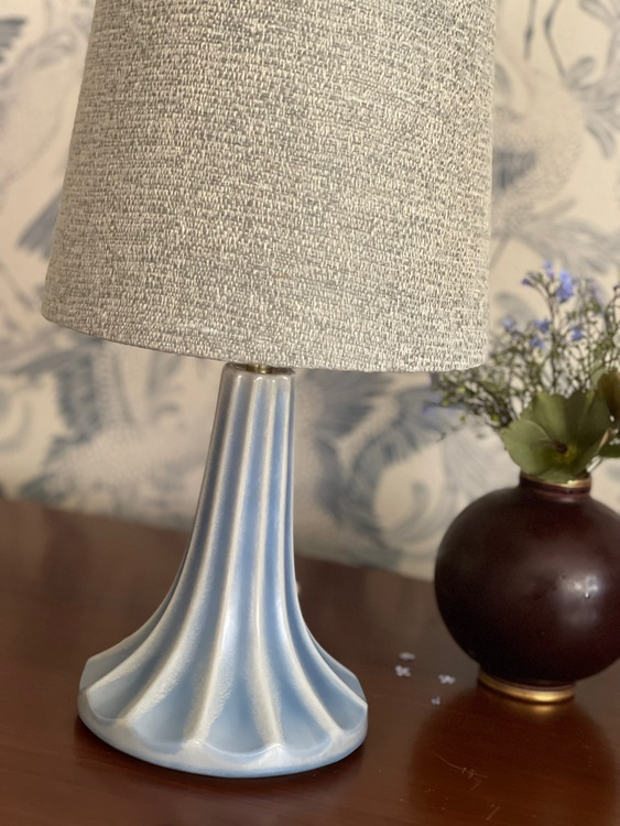 Ewald Dahlskog Sculptural Ceramic Lamp by Bo Fajans