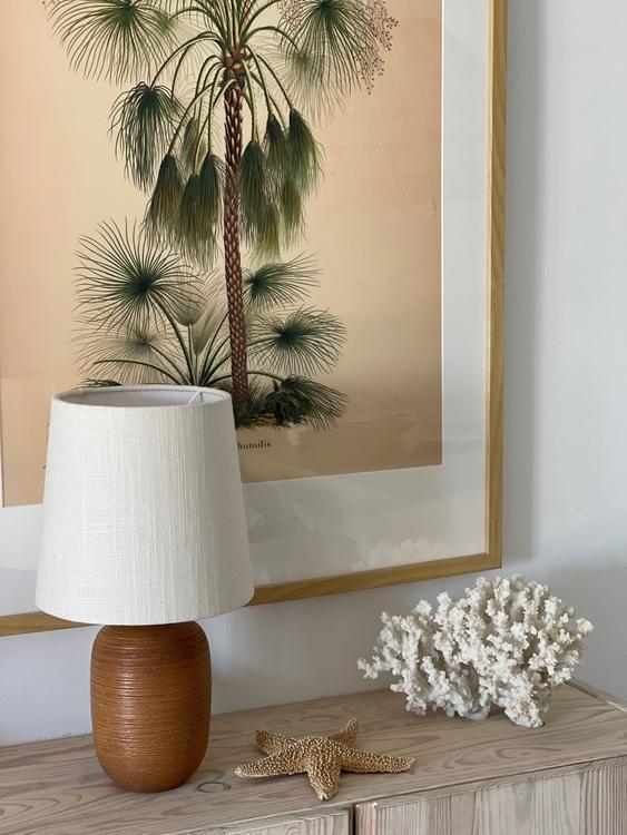 Upsala-Ekeby Ceramic Table Lamp by Greta Runeborg. 1930s.