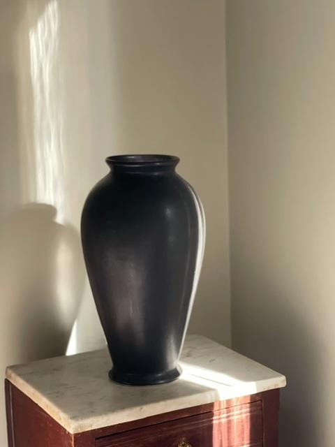 Arabia Large Stoneware Vase. 1960s.
